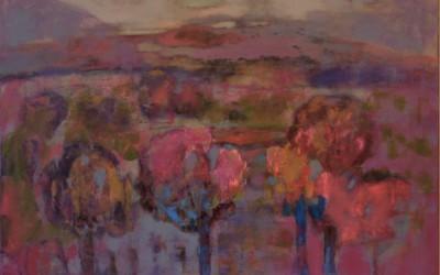 Pejzaż jesienny; 100x70; akryl; 2009
