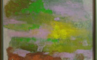 Zmierzch; 75x75; akryl; 2009