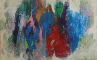 Gorące lato II; 81x60, akryl; 2010