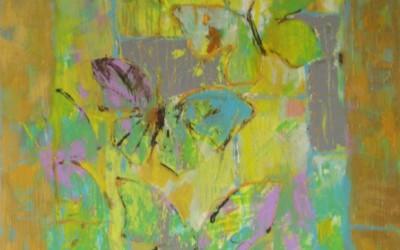 Motyle; 50x60; akryl; 2010