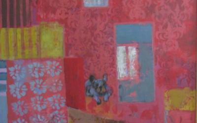 Piesek; 68X88; akryl; 2012