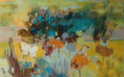 Ogród Latem; 100x80; akryl; 2011