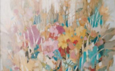 Złoty Ogród; olej; 2000